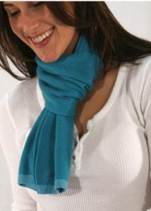 Pistil scarf from Meringue