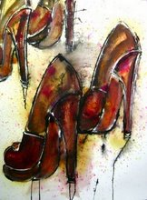 "Entitled ""Louboutin"" 30x22 ... AND I WANT IT!"
