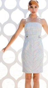 Strapless Trina Turk dress