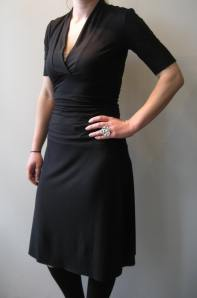 Amanda Dress in Black